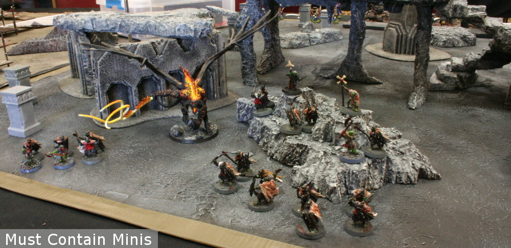 Mordor Force from the Lord of the Rings Miniatures Game / Hobbit Strategy Battle Game