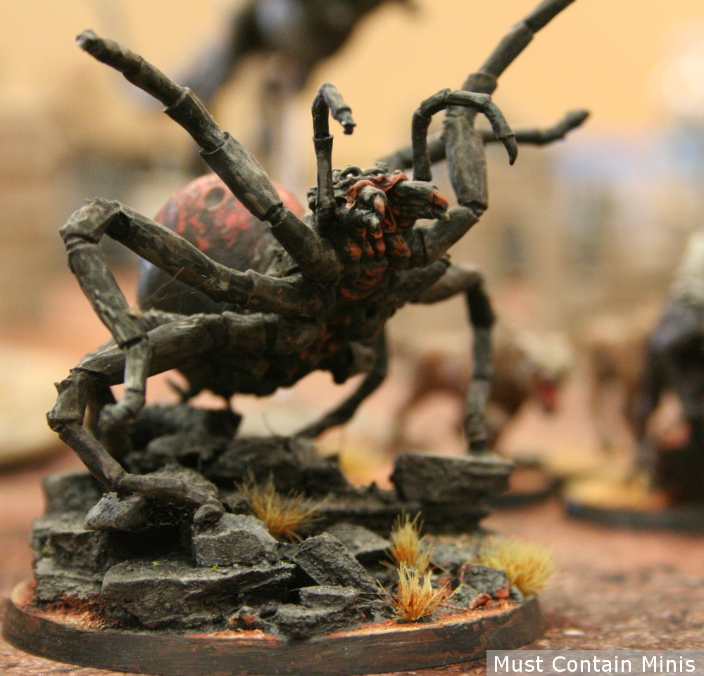 Dark Spider in Hobbit The Strategy Battle Game by Games Workshop