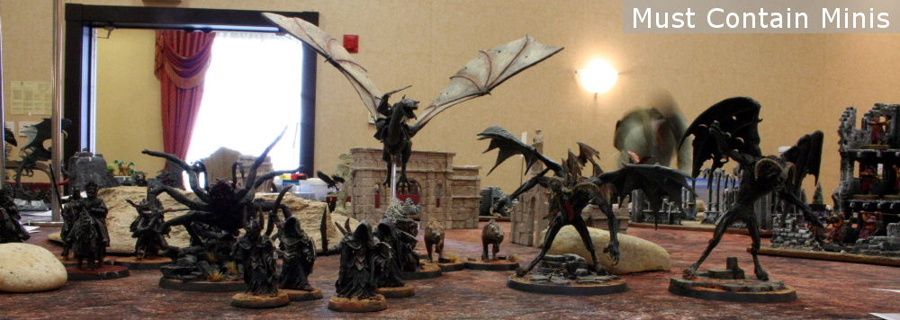 A Lord of the Rings Miniatures Army - Evil - Miniatures by Games Workshop