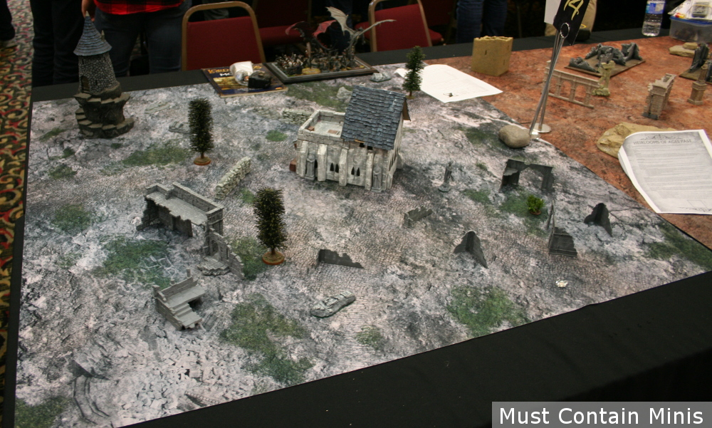 Hobbit Gaming Table / Terrain setup