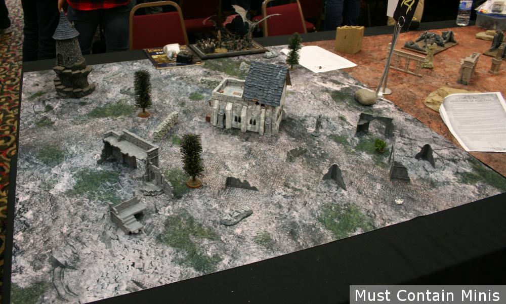 Hobbit Gaming Table / Terrain setup