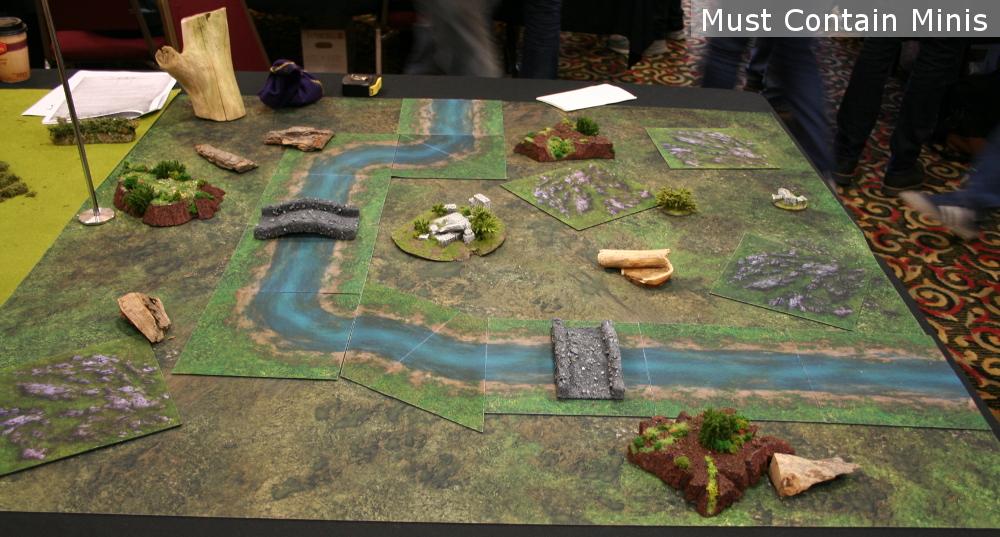 neoprene Hobbit Battle Table / Terrain