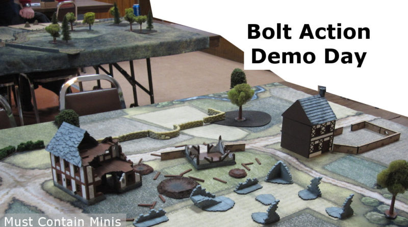 Bolt Action Demos - Gaming Report