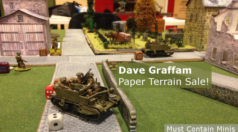 Dave Graffam Models Sale on Paper Terrain