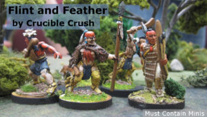 Flint and Feather Miniature article about Crucible Crush on Bell of Lost Souls