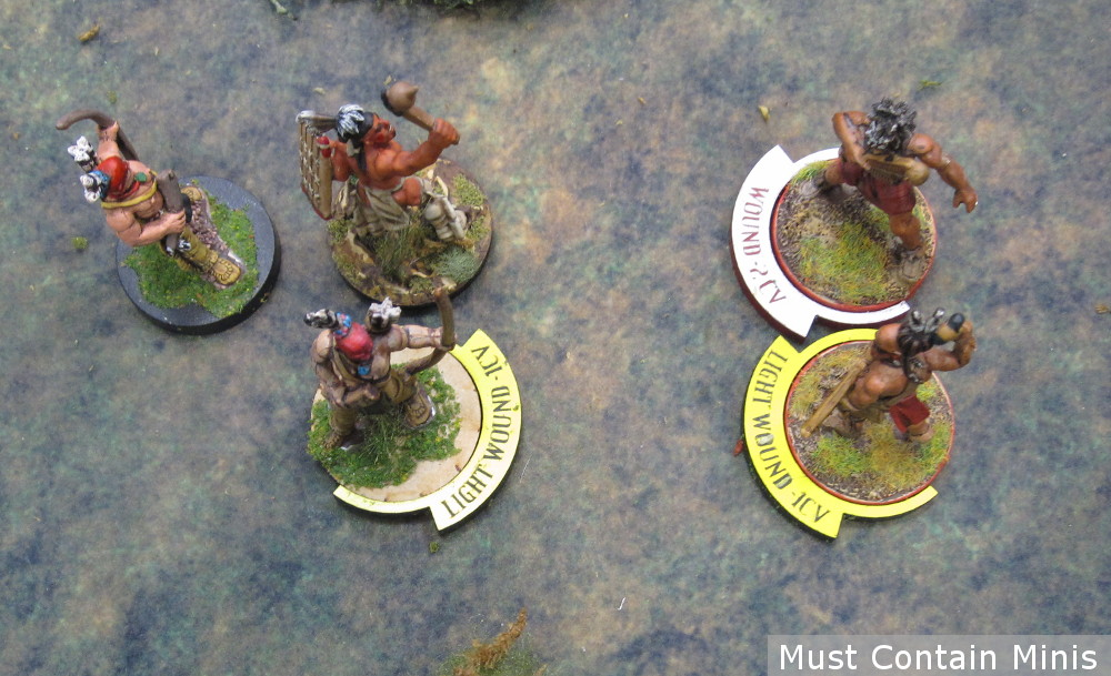 Flint and Feather Miniature Wargame Markers