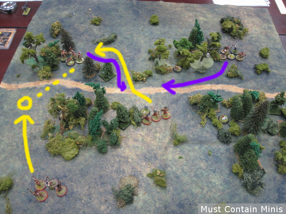 Flint and Feather Wargame Plan of Attack