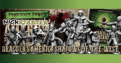 Forbidden Power Dracula's America Nickstarter