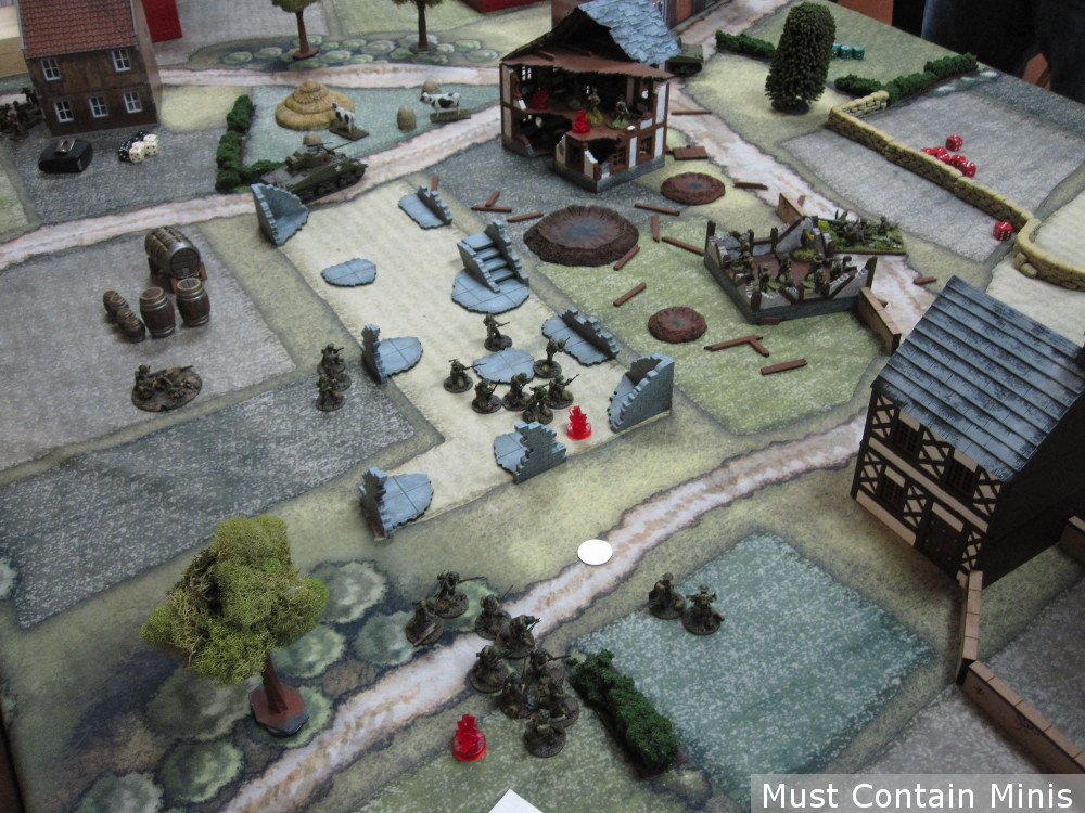 British call in a Bombardment - Bolt Action