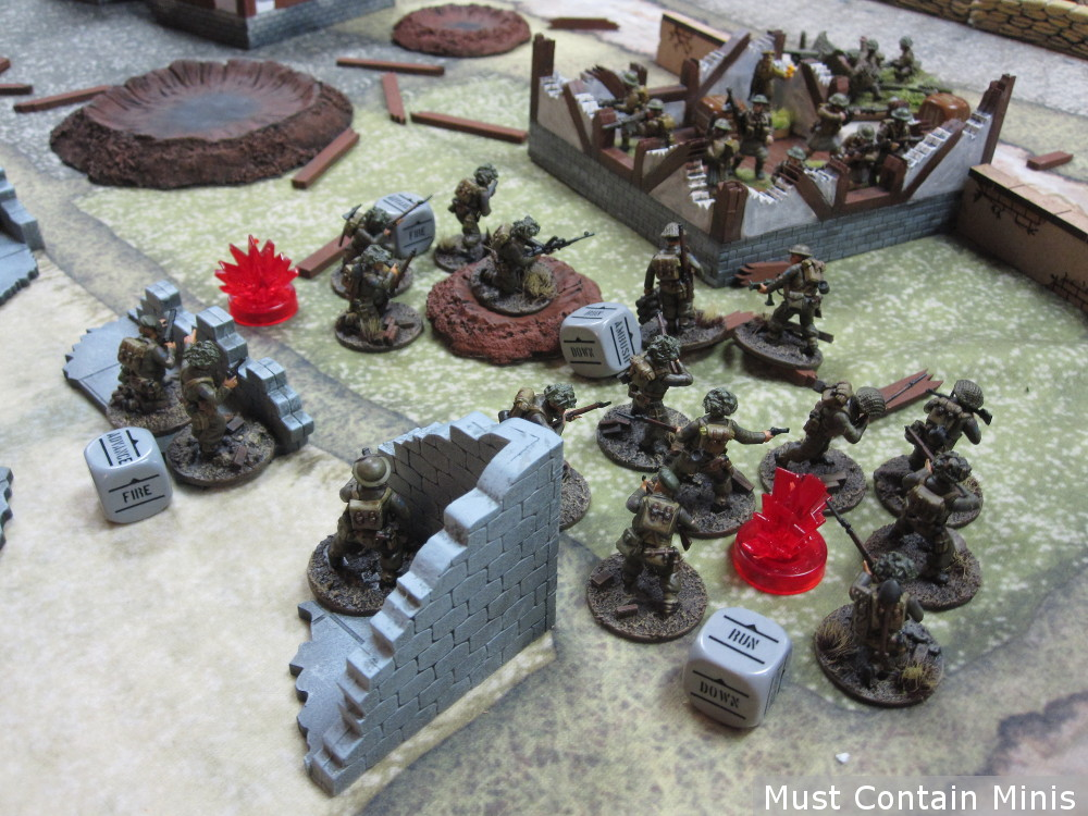 Canadians Charge in Bolt Action - Battle Report (AAR)