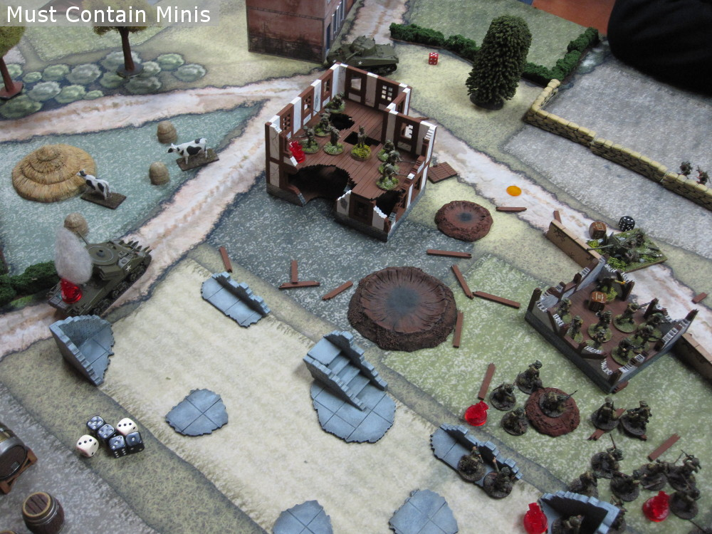 6-Pounder Gun takes out a Tank in Bolt Action
