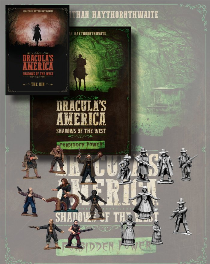 Dracula's America Forbidden Power Nickstarter