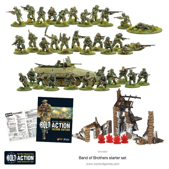 Band of Brothers Bolt Action WW2 Contents