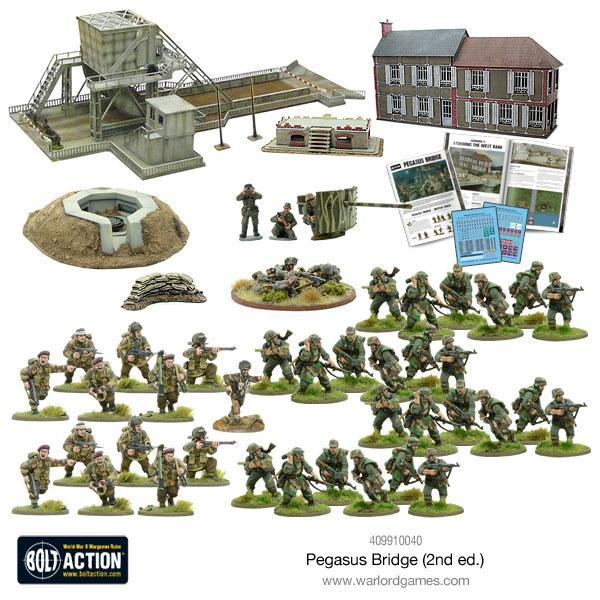 Pegasus Bridge Contents - Bolt Action