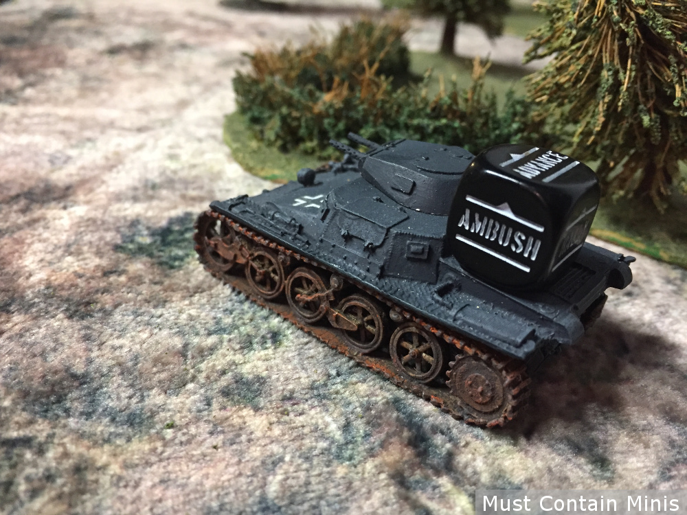 Bolt Action Panzer 1