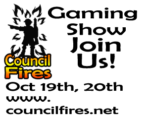 Council Fires Gaming Convention Brantford Ontario