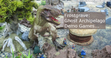 Frostgrave Ghost Archipelago Demo Game Custom Rules