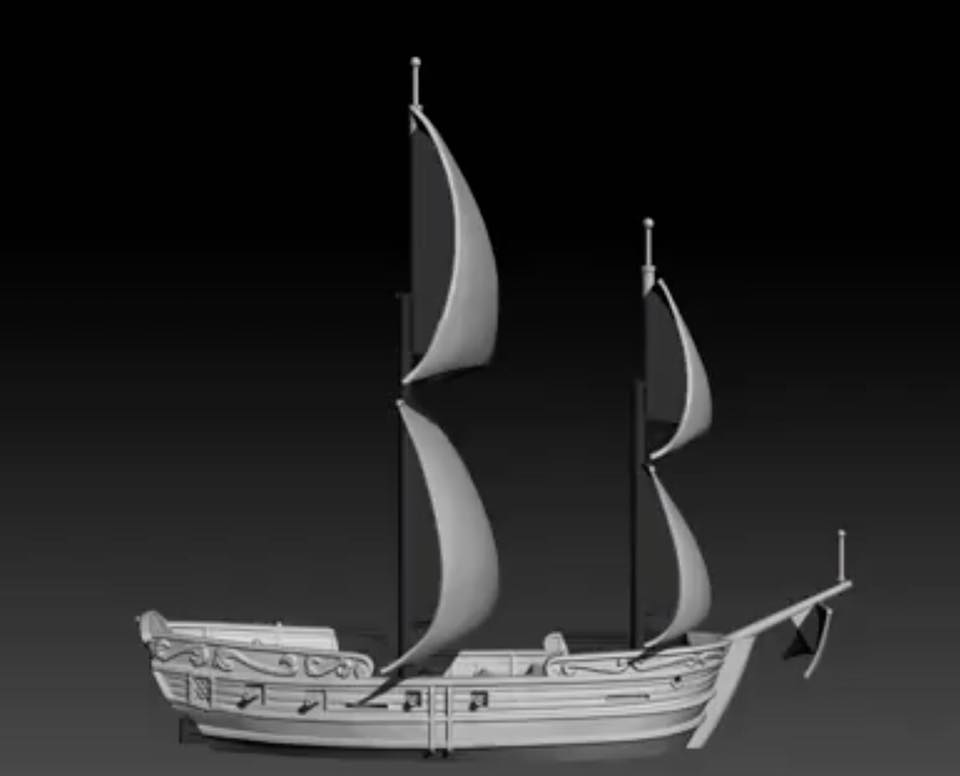 Oak & Iron preview ship picture