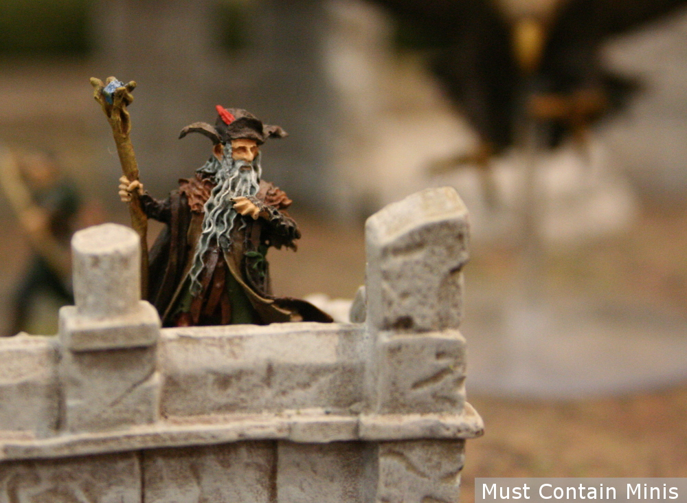 Hobbit Wizard Miniature