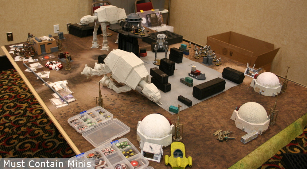 AT-AT as scenery for a Star Wars Legion Table - Terrain