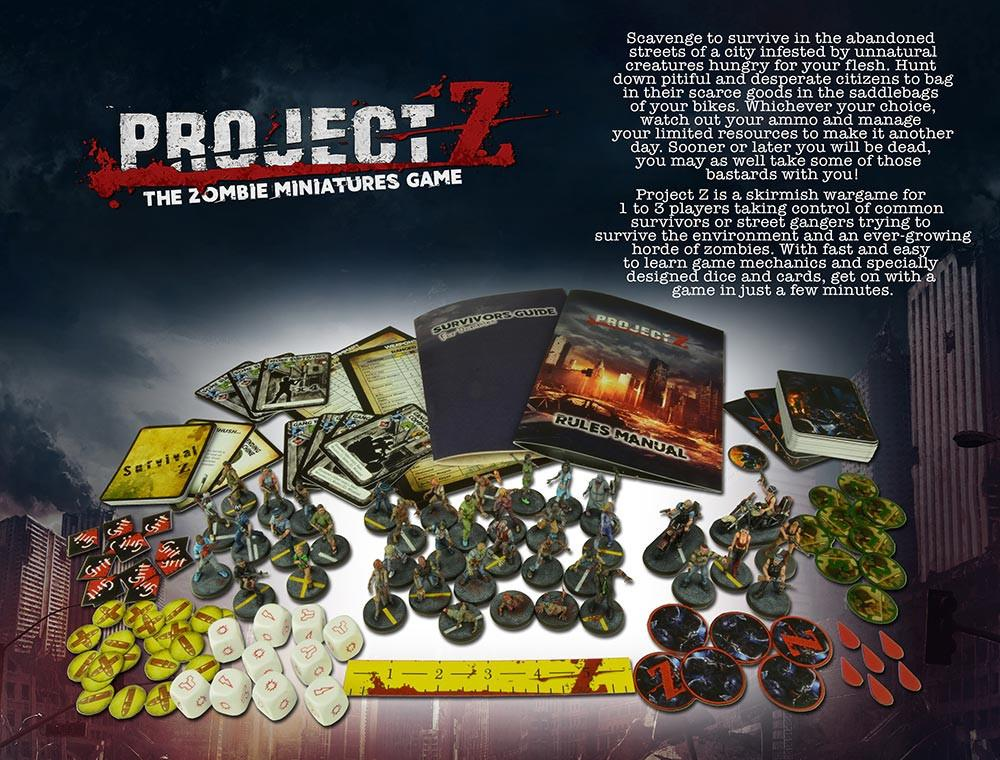 Project Z Contents
