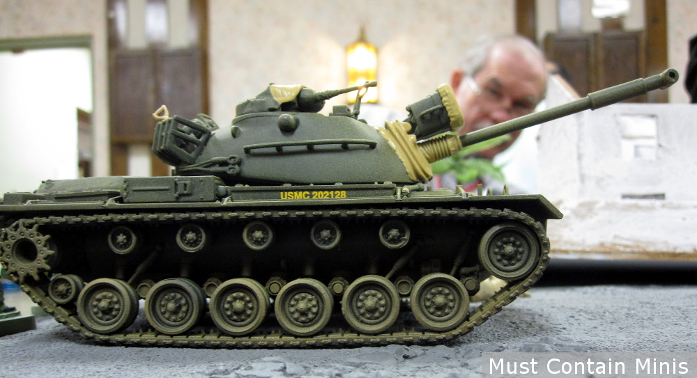 A Tank in Charlie Company 28mm Miniatures Game