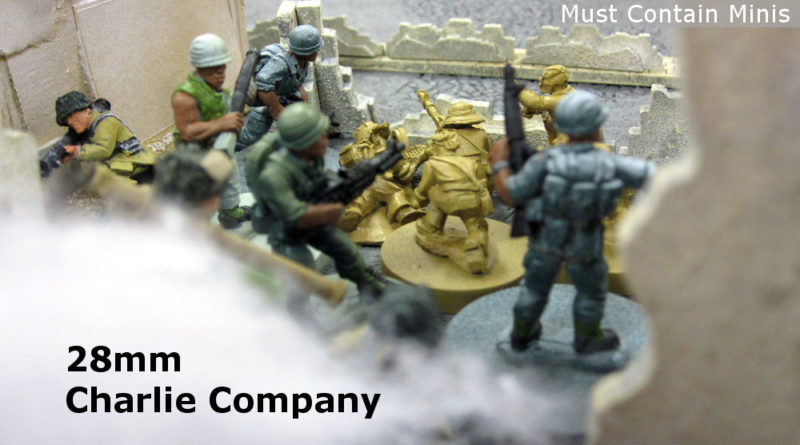 Vietnam Miniatures with Charlie Company by RAFM