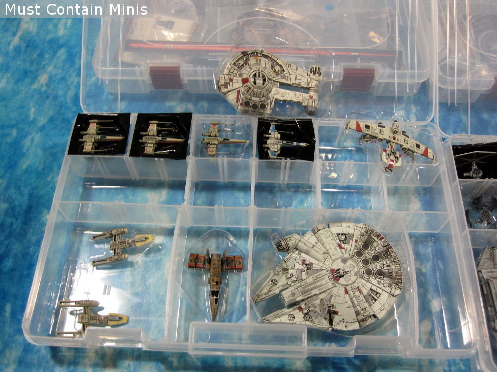 X-Wing Miniatures Storage and Transportation Solution