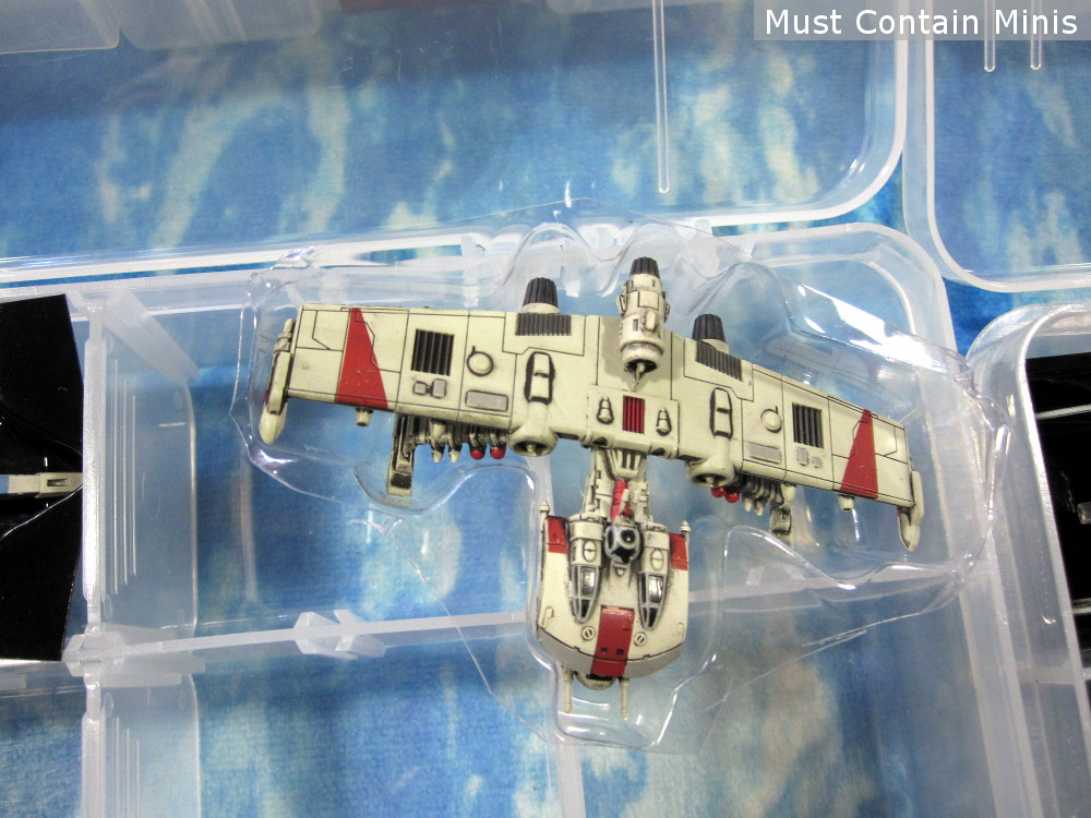 K Wing Storage for X-Wing Miniatures Game