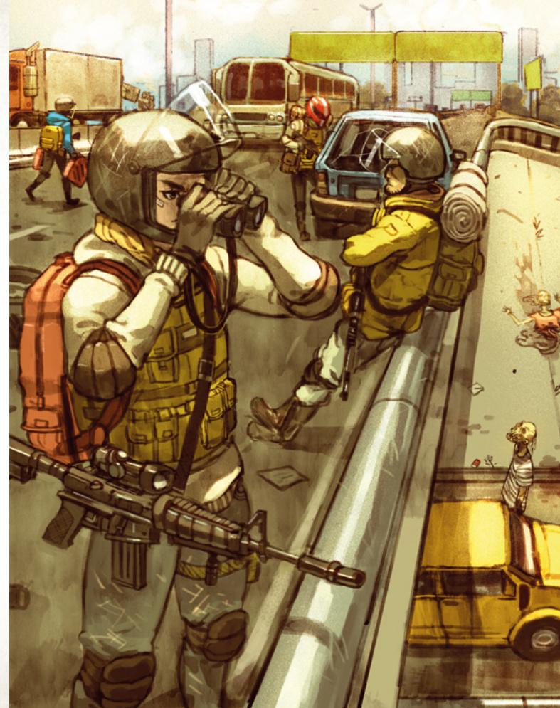 Artwork of Elites in Last Days Zombie Apocalypse