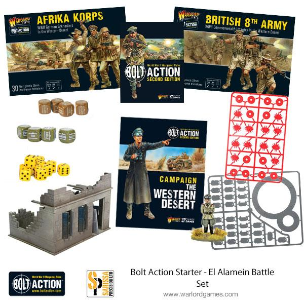 Desert Bolt Action Starter Set