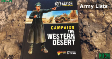 Army Lists of Bolt Action: Campaign: The Western Desert