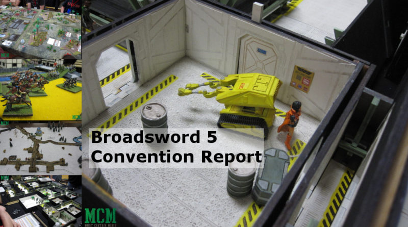 Broadsword 5 Convention Report - Hamilton Gaming Convention 2018 Ontario Canada