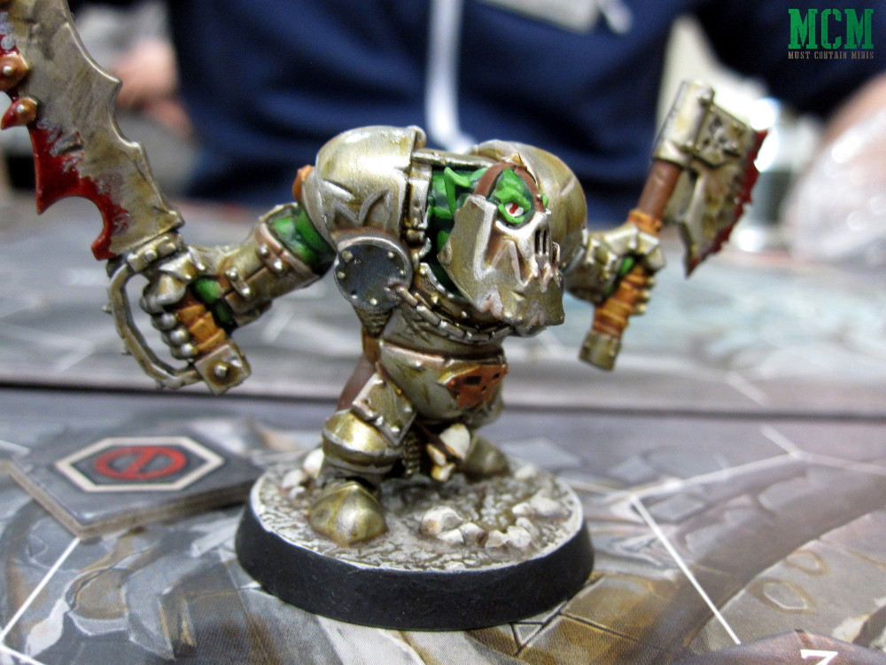 Ork from Warhammer Underworlds Shadespire