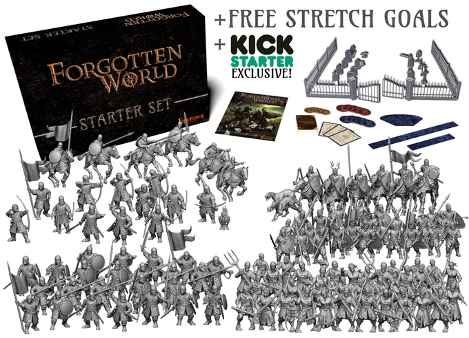 Forgotten World Starter Set by Fireforge Games