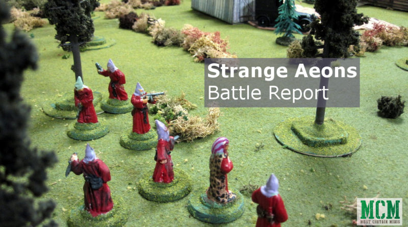Strange Aeons Battle Report / Von Unaussprechlichen Kulten