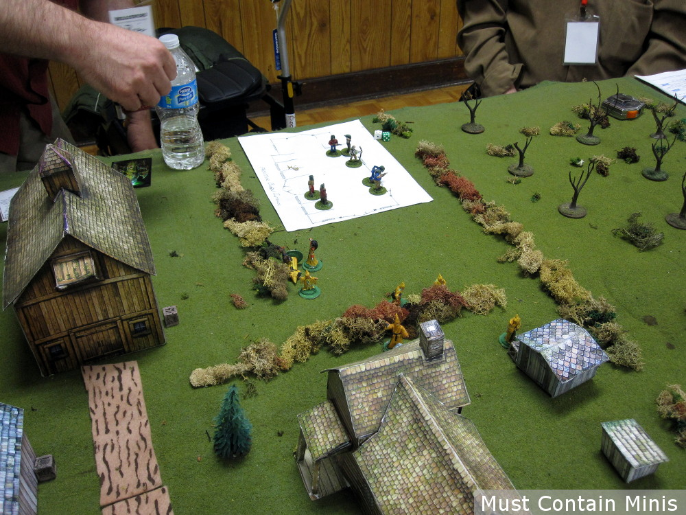 Wargaming with Paper Terrain