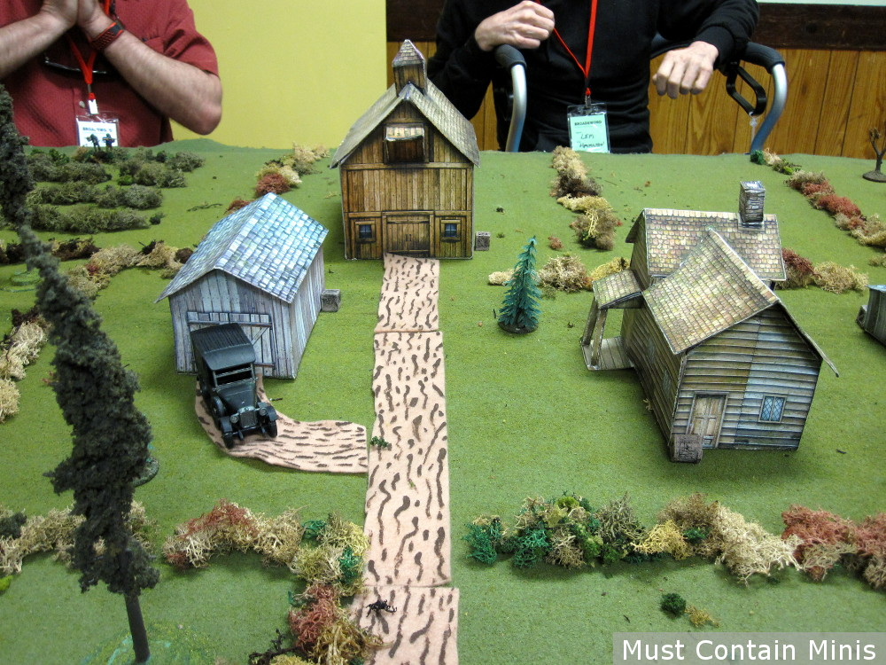 Paper Terrain on the Wargame Table - Strange Aeons