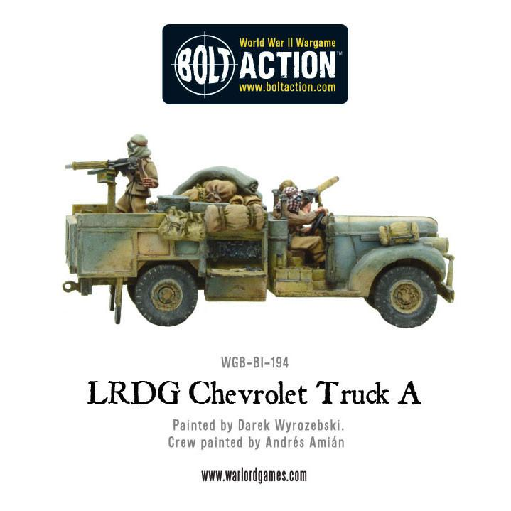 LRDG Truck for Bolt Action