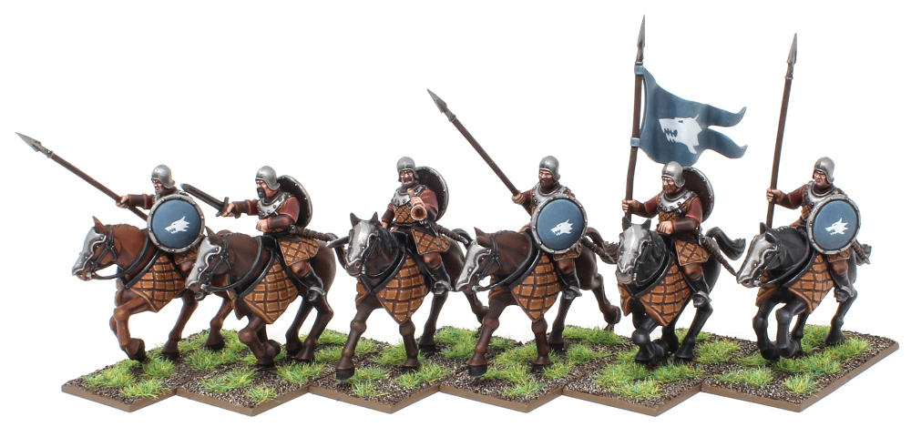 Human Cavalry for the Northmen