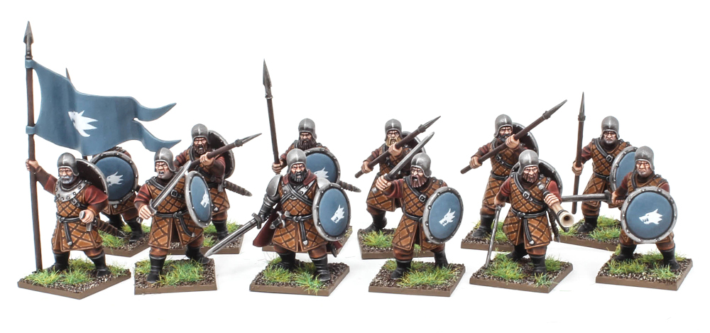 Forgotten World Kickstarter Human Infantry