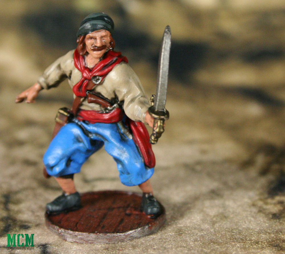 Blood & Plunder Marineros Miniature by Firelock Games