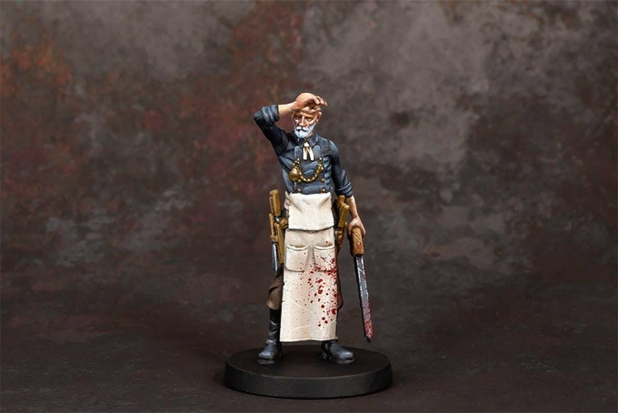 Painted Grimlord Games The Everrain Doctor