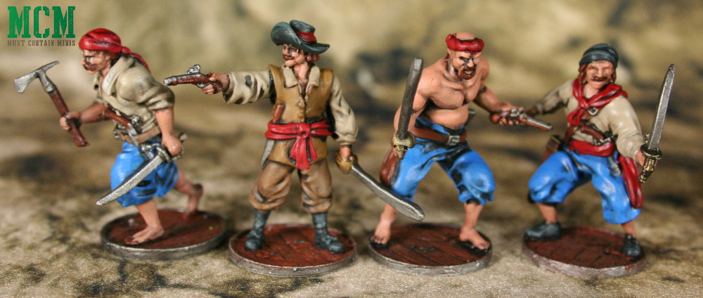Blood & Plunder Spanish Marineros Unit Painted