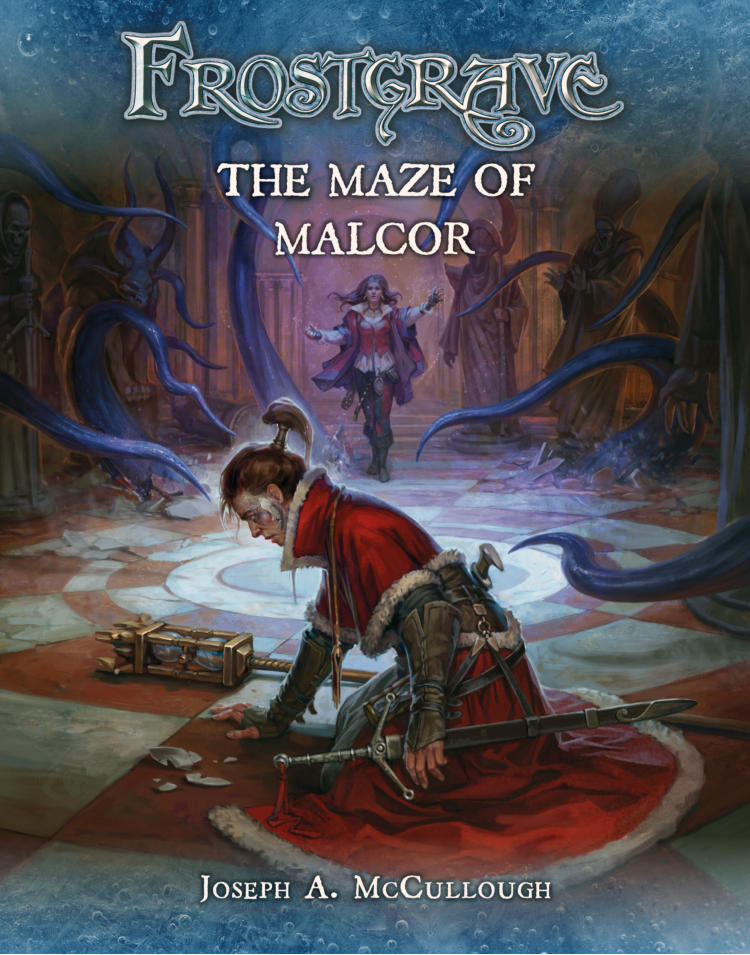 Frostgrave Maze of Malcor Cover
