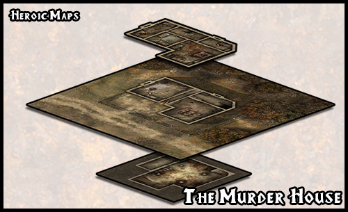 Gaming Maps for Cthulhu type games and other miniature and RPG style games