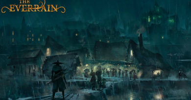Art of the Everrain Board Game