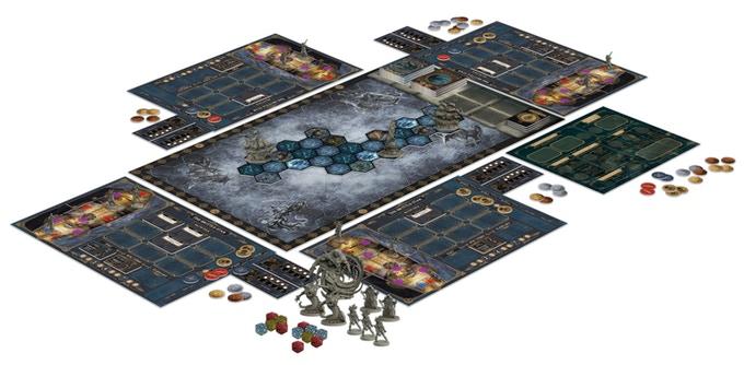 Everrain Game Board