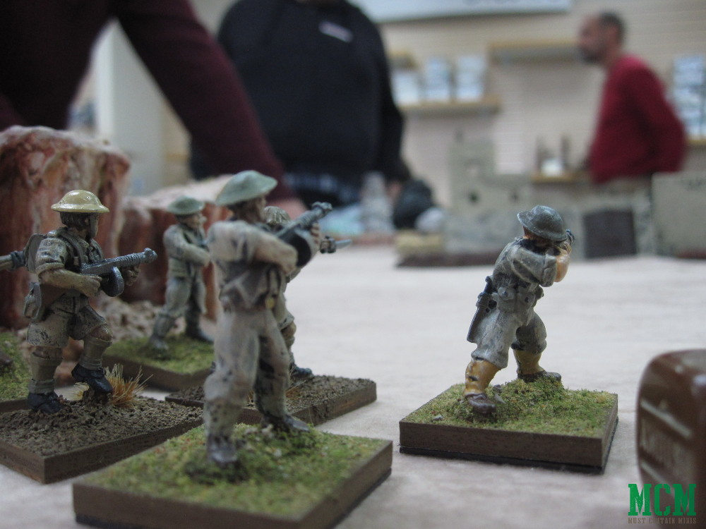 Alternative British Bolt Action Miniatures - Crucible Crush