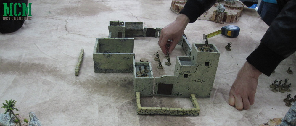 Miniature Gaming Authority Terrain in Bolt Action Desert War